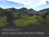 GREENVALLEY - mesh terrain & sim surround terrain rezzer