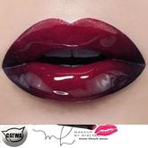 Catwa Lips Catwa Lipstick Red Ombre Glossy Lips