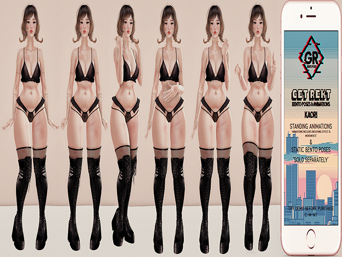 [GR] - Kaori Pack #1 [4]> Standing Bento Poses