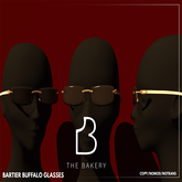 FATPACK Buffalo Bartiers Glasses by The Bakery
