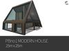 PBHno1 MODERN HOUSE 25M x 25M