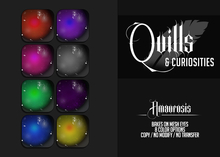 Quills & Curiosities - Amaurosis Eyes