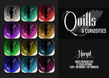 Quills & Curiosities - Nergal Eyes