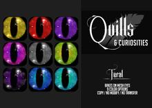 Quills & Curiosities - Feral Eyes
