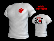 The Sweet Sp*t - Men's White Club Tshirt