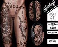 { Speakeasy } Blessed Leg Tattoo ( 50L )