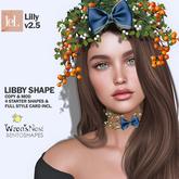 { wren's nest } Libby Shape for LeLutka Lilly Bento head