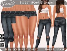 Sweet's Sweet BoM Denims - Jeans/Capris/Shorts