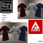 Adin Bento Versio Men's Bathrobe 3 colors included -Box