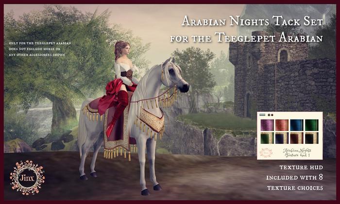 Jinx : Arabian Nights Tack for Teeglepet  Arab