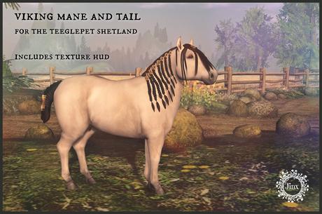 Jinx : Viking Mane Tail - TeeglePet Shetland