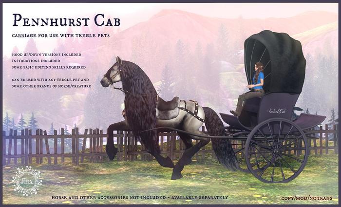 Jinx : Pennhurst Cab for TeeglePets