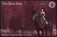 Jinx : The Dark Stag Animesh Rideable