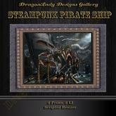 Steampunk Pirate Ship