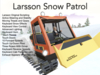 Snow Patrol For Winter Region Roads and Mountains!