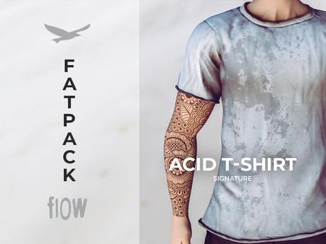 flow . Acid T-Shirt Fatpack