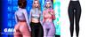 Gaia - danny leggings//navy
