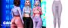 Gaia - danny leggings//lilac