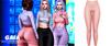 Gaia - danny leggings//blush