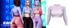 Gaia - danny fluffy sweater//lilac