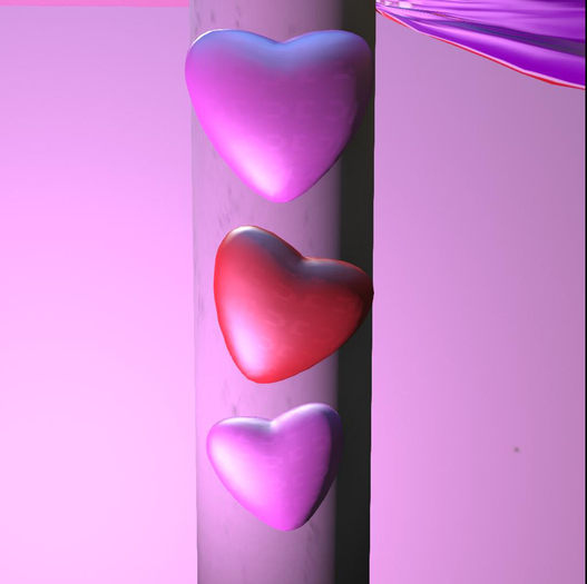 Valentines Day Hearts Decoration