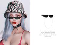 = DAE = wide plastic eyeglasses pack