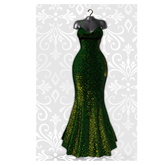 MAAI Mislava gown * Lara&Legacy&Kupra * Green