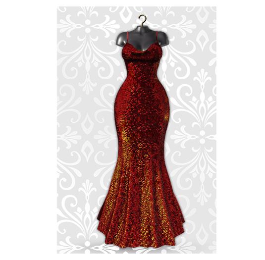 MAAI Mislava gown * Lara&Legacy&Kupra * Red