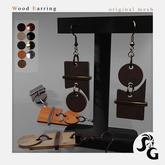 ::SG:: Wood Earring