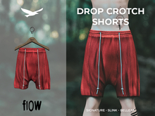 flow . Drop Crotch Shorts - 01