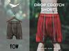 Flow drop crotch shorts 02