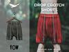Flow drop crotch shorts 04