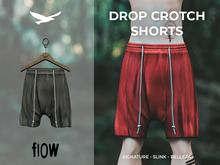 flow . Drop Crotch Shorts - 04