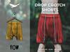 Flow drop crotch shorts 06