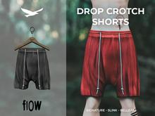 flow . Drop Crotch Shorts - 07