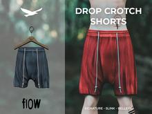 flow . Drop Crotch Shorts - 08