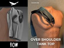 flow . Over Shoulder Tank Top 01