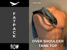 flow . Over Shoulder Tank Top - Fatpack