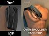 Flow over shoulder tank top 02