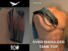 flow . Over Shoulder Tank Top 03