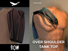 flow . Over Shoulder Tank Top 04