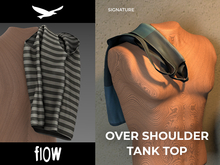 flow . Over Shoulder Tank Top 05