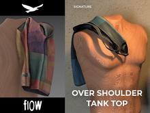 flow . Over Shoulder Tank Top 08