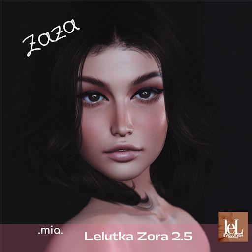 .mia. Zaza shape - Lelutka Zora 2.5