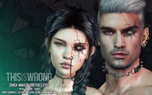 THIS IS WRONG Crack shine+tattoo 3D - unisex pack