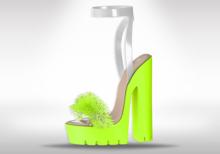 Veilance: Chelsea Fur Heels - Voltage