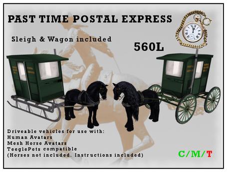 Past Time Postal Express Combo