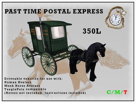 Past Time Postal Express Wagon