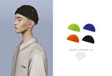 = DAE = Paper clip wool cap pack