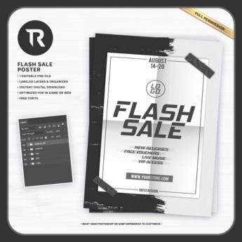 [TR] Flash Sale Poster